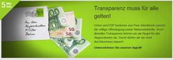 Campact Transparenz