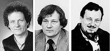 Günter Achilles: Drei Porträts aus verschiedenen Dekaden, GB-Fotos (Archiv): gb